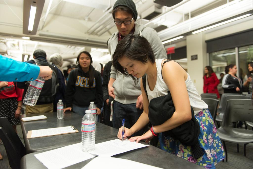 Slideshow UCLA USC students band together after racist