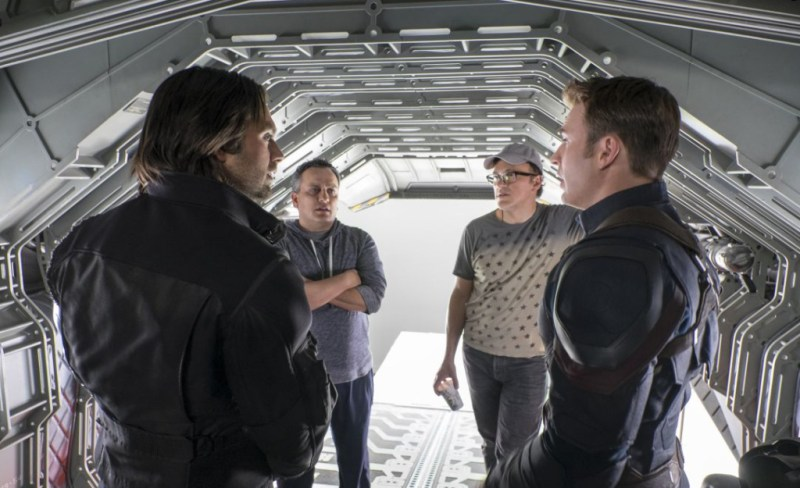 Russo Brothers Captain America
