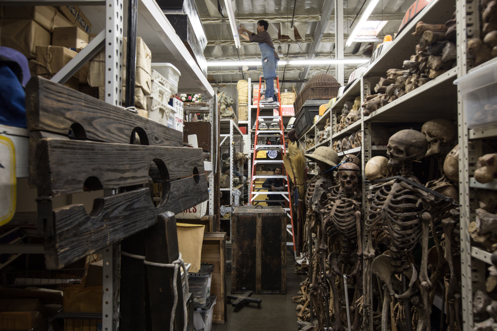 Inside a Hollywood prop house See the vintage items that