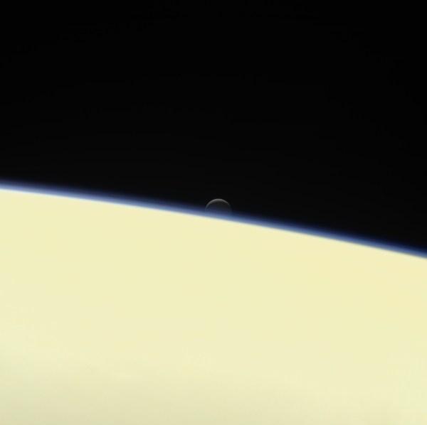 Last Photos Taken by Cassini Spacecraft