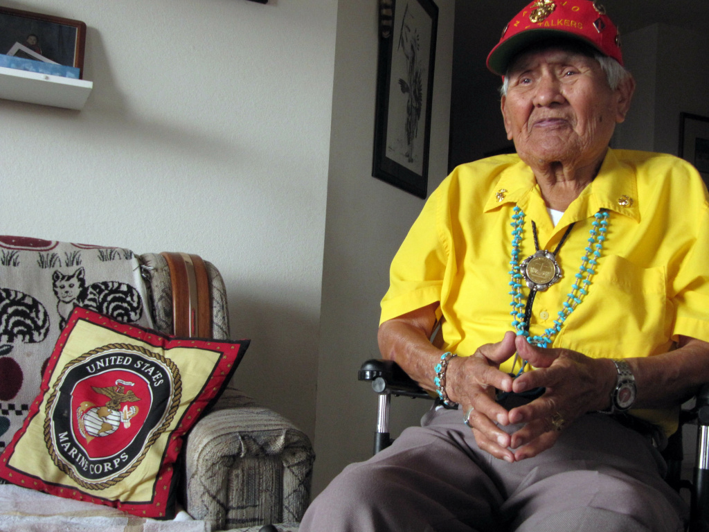 Chester Nez Last Of The World War Ii Navajo Code Talkerss At 93