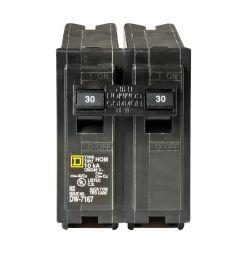 square d homeline 30 amp 2 pole standard trip circuit breaker atsquare d homeline 30 amp [ 1000 x 1000 Pixel ]