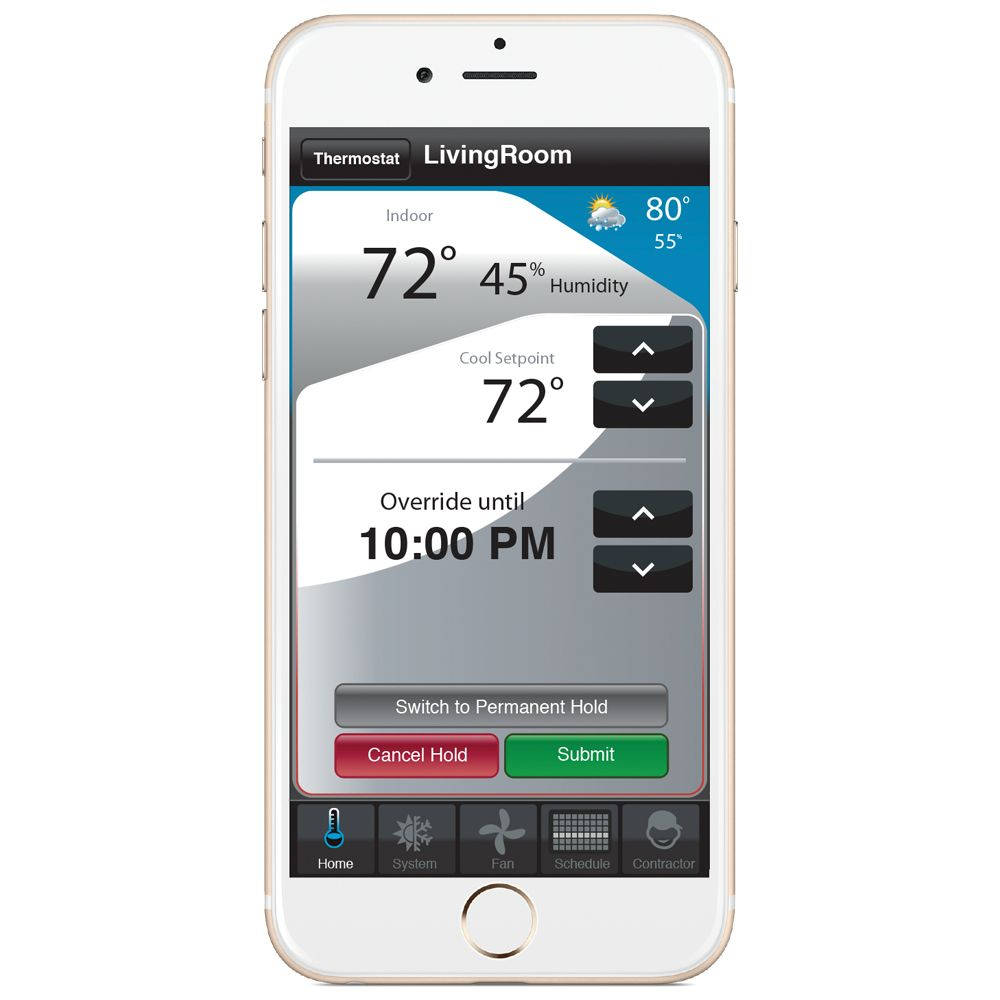hight resolution of use your smartphone to manage your smart thermostat