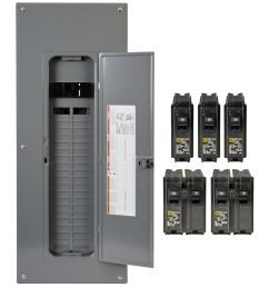 square d homeline load centers and circuit breakers are designed for fast installation reliability and superior circuit protection  [ 3750 x 3750 Pixel ]