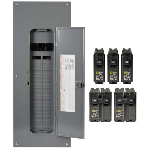 small resolution of square d homeline load centers and circuit breakers are designed for fast installation reliability and superior circuit protection