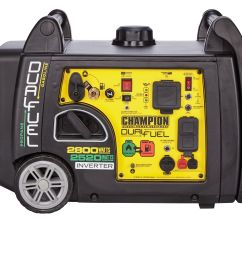 champion dual fuel 2800wt running 3100wt peak digital inverter generator electric start rv ready parallel capable carb epa certified low decibels [ 5447 x 3632 Pixel ]