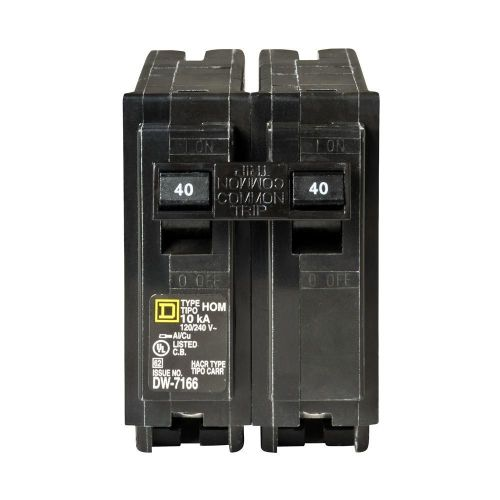 small resolution of square d homeline 40 amp 2 pole standard trip circuit breaker at d box fuse 30 amp square