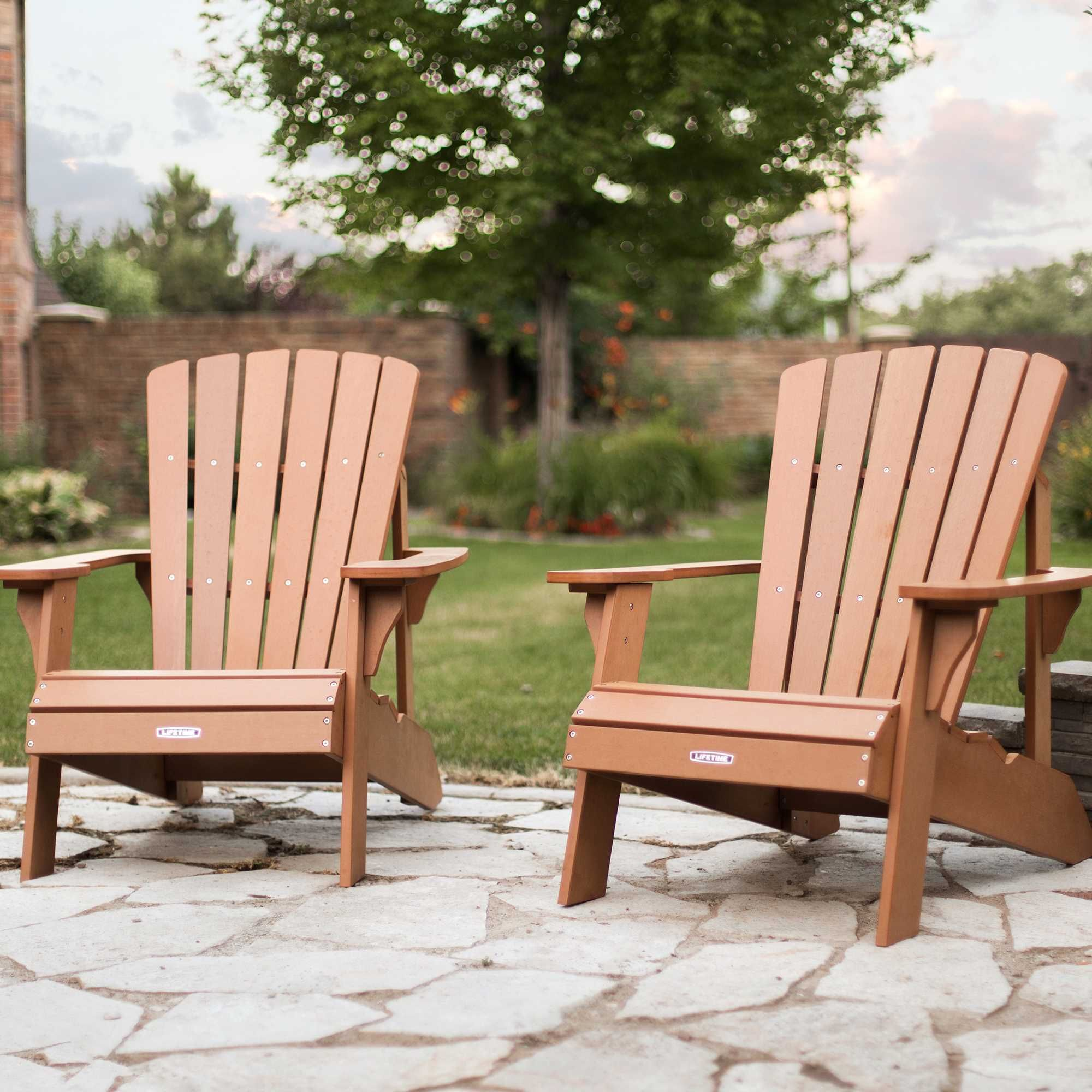 Lifetime Adirondack Chair Lifetime Adirondack Chair 2 Pack