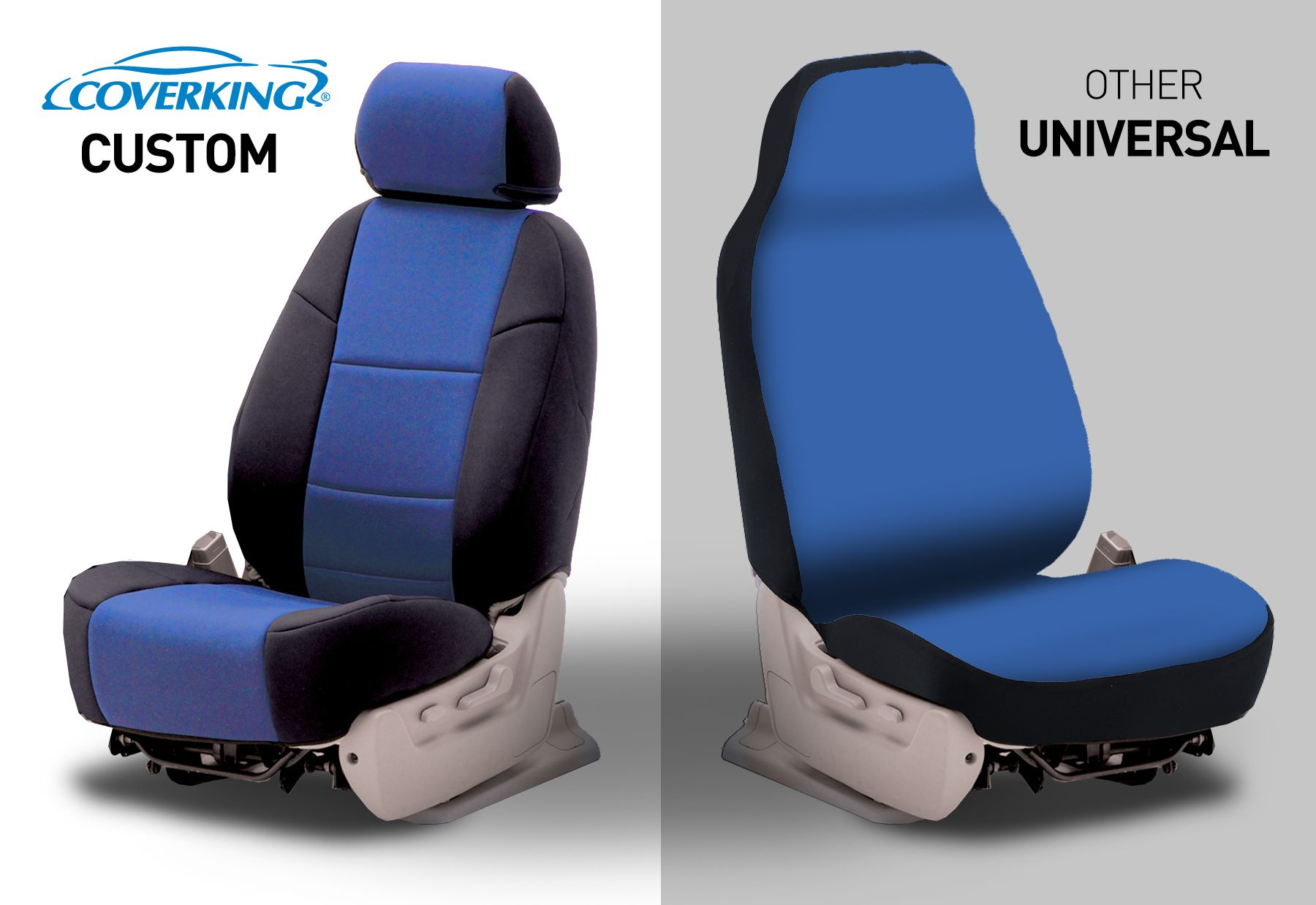 hight resolution of there is no such thing as a one size fits all seat cover if you want superb fit coverking s fully custom made seat cover is the clear choice