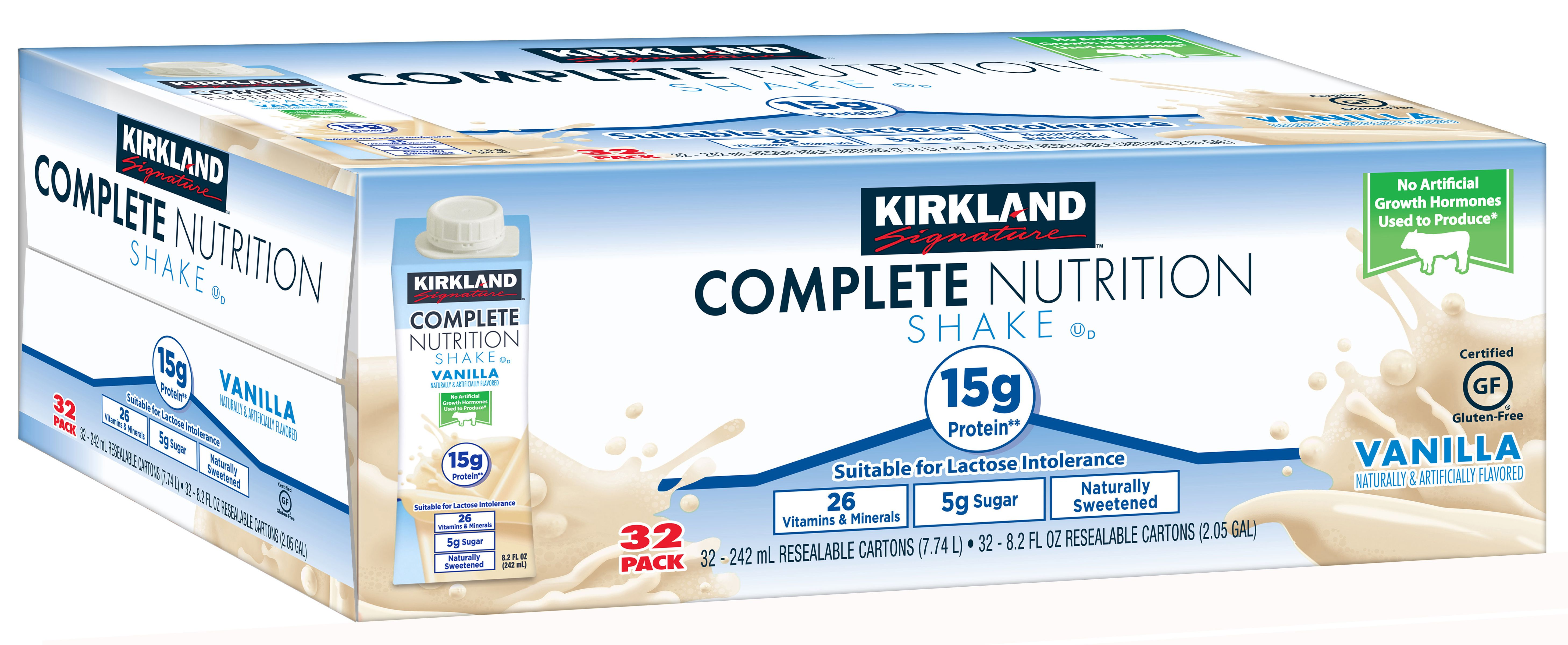 Complete Nutrition Shakes - NutritionWalls