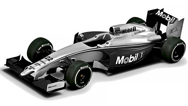 Mclaren Reveal Oneoff New Livery For Australia