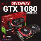 MSI GTX 1080 GAMING Z GIVEAWAY (06/13/2017) {AU} - 3 Days Left!