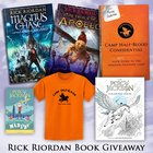 Enter for a chance to win the Camp Half-Blood Confidential guide, the Percy Jackson coloring book and mad libs, any one of two Rick Riordan's books and a Camp Half-Blood t-shirt {WW} Many nations restricted so see rules (12/07/2017)