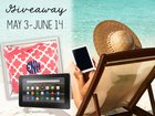 Win a Kindle Fire + Beach Bag! {WW} (6/14)