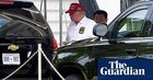 Trump heads to his own golf club as Covid-19 surges and jobless benefits expire | US news
