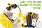 win $500 in Beauty by Earth Natural Skin Care Products {us} ends 7/13