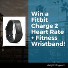 Win a Fitbit Charge 2 Heart Rate & Fitness Wristband {WW} (9/30)