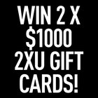 2 winners! Win $1,000 2XU gift card for fitness wear! (10/20/17) {us uk ca}