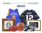 $1,000 Steiner Sports Shopping Spree Giveaway (05/18/2017) {??}