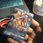 I pranked my little brother (who's obsessed with Pokemon) with a fake card for his birthday