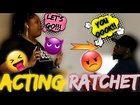 So Funny ACTING RATCHET on my husband