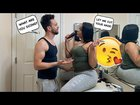 Distracting My Boyfriend While He's Cutting His Hair!! *Cute Reaction*
