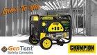 Win a portable outdoor generator arv $800 05/03 {US}