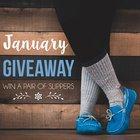 Win a pair of Staheekum slippers (1/31/18) {US}