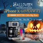 Win an iPhone X, Blender or an Amazon Gift Card! (11/07) {us}