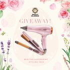 Win a hair dryer, hair straightener and tong tool (5/6/18){??}