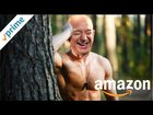 Jeff Bezos and Eric in the Woods with a FLESH-LIGHT and GARDEN GNOME