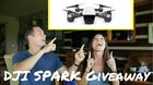 Win A DJI SPARK DRONE! - ARV $499 {US} (6/13/17)