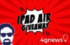 Giveaway iPad Air - Daniel Pinto e 4g News {WW} (01/30/2018)