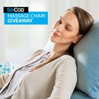 Enter to win a Southern Motion SoCozi massaging recliner! arv $899 {US} (12/4/2018)