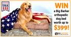 Win a Big Barker Orthopedic Dog Bed [a $399 value}! {??} (02/29/2020)