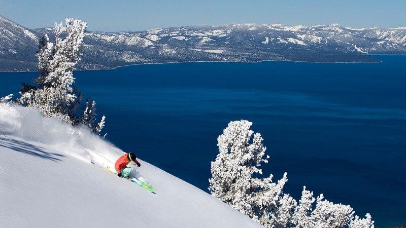 View Of Lake Tahoe From Heavenly Ski Resort