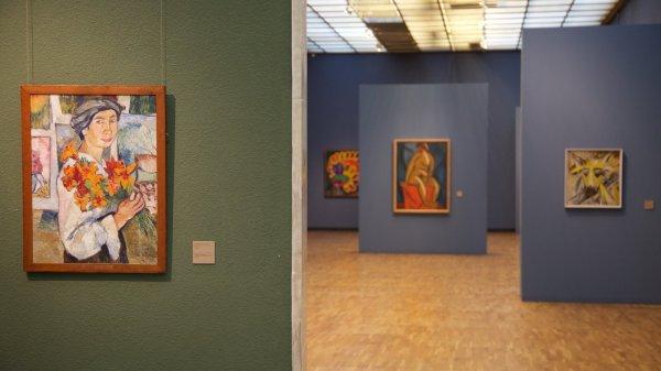 Modern Art Museum Gallery