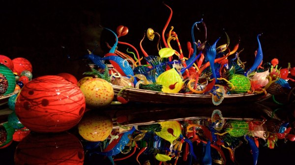 Chihuly Garden And Glass View & Of