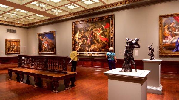 Cincinnati Art Museum View & Of