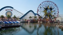 Theme Parks View Of California