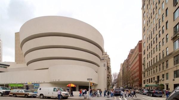 Solomon . Guggenheim Museum View