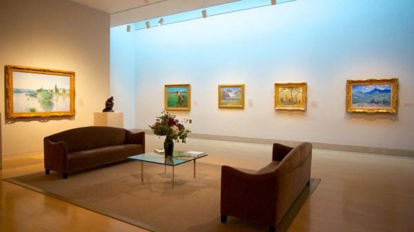 Museum View Of Dallas Art