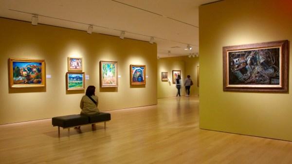Phoenix Art Museum View & Of