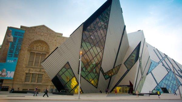 Royal Ontario Museum View & Of