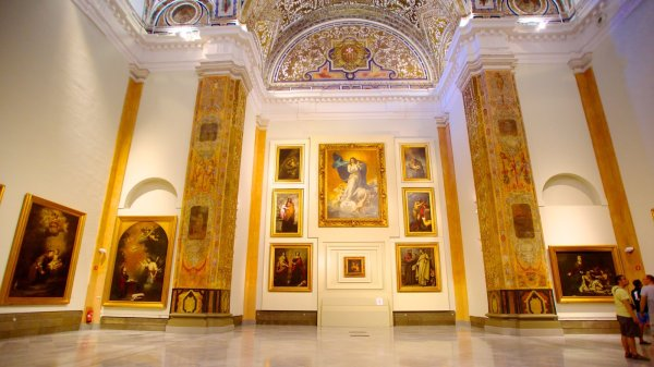 Paintings of Museum of Fine Arts Seville