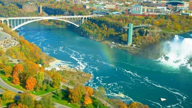 Rainbow Bridge Niagara Falls NY