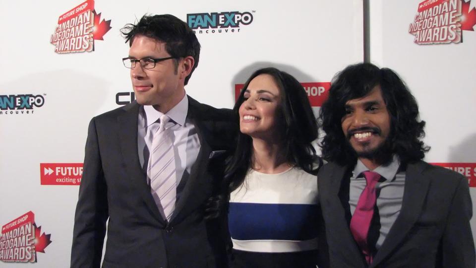 Scott Jones, Marissa Roberto and Shaun Hatton