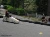 Wired Woman Racing Down The Hill