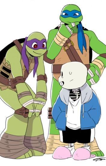 an undertale ninja turtles