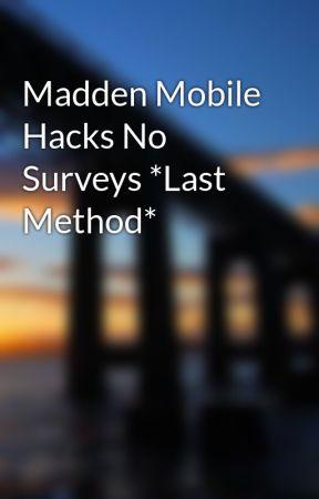 madden mobile hacks no